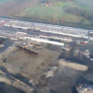 Abbruch Möbelfabrik Delbrück